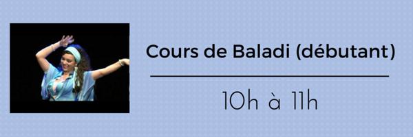 Cours de Baladi (débutant)