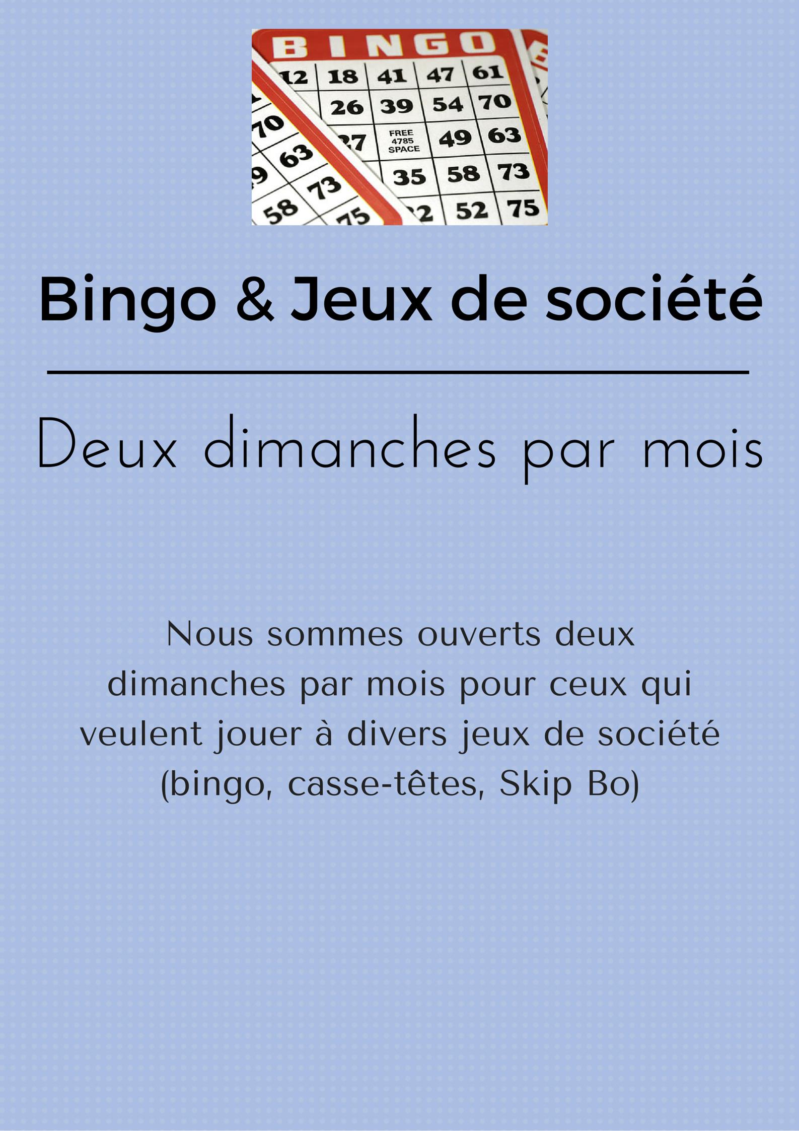 Bingo & Jeux de société (1)